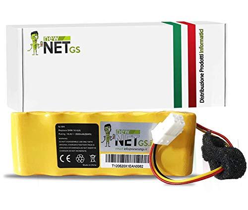 Batteria Ni-MH da 3500mAh 14.4V compatibile con Samsung Navibot SR8730 SR8750 Light SR8824 SR8825 SR8828 SR8830 SR8840 SR8841 SR8843 SR8844 SR8845 SR8846 SR8847 SR8848 SR8874 VCA-RBT20 DJ96-00113C