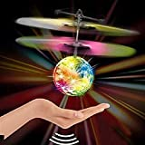 JPK Hand Control Flying Ball with Motion Sensors and 3D Lights,Gravity Sensor Disco