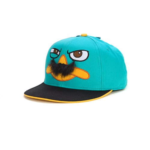 Phineas and Ferb Agent P Perry Mustache Adjustable Baseball Cap