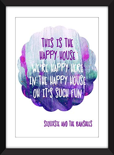 Siouxsie and the Banshees - Happy House - Unframed Print/Ungerahmter Druck