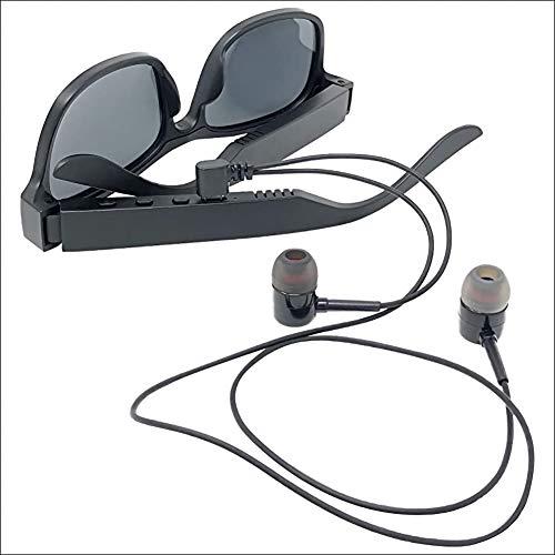 HFSKJ Gafas de Sol Inteligentes, Gafas de Sol Bluetooth Inteligentes con Altavoz...