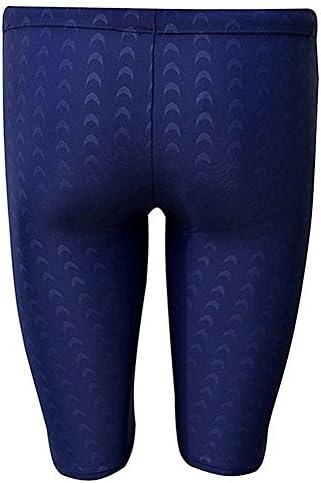 Vocni Mens Swim Trunk Quick Dry Rapid Swim Splice Square Solid Jammer Swim Suit