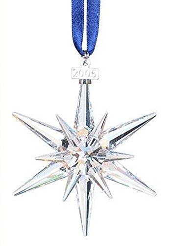 Swarovski stella di natale pendente albero di natale 680502 AP 2005 Nuovo con scatola e certificato originale