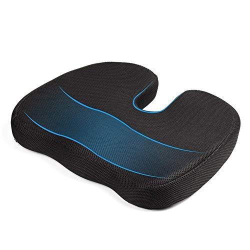 Travel Breathable Seat Cushion Orthopedic Memory Foam U Seat Massage Chair Cushion Pad Car U-Shape Seat Cushion