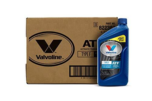 Valvoline Type F (ATF) Automatic Transmission Fluid 1 QT, Case of 6