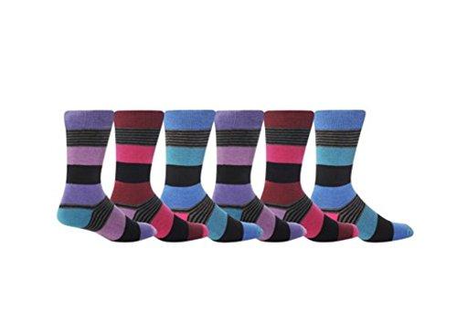 Giovanni CassiniHerren Socken, Gestreift Mehrfarbig Mixed