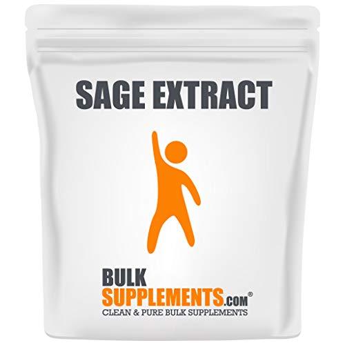 BulkSupplements.com Sage Extract Powder - Menopause Supplements - Quick Immune Response - Sage Herb - Sage Supplement (100 Grams - 3.5 oz)