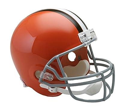 Riddell Cleveland Browns 1962-1974 NFL Full Size Replica Throwback Football Helmet