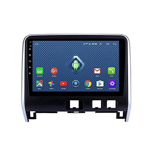 Android 8.1 Radio De Automóvil para 2016-2018 Nissan Serena Car Estéreo GPS Navegación Táctil Pantalón Touch Player Doble DIN Head Unit Support WiFi Volante Control(Color:4G+WiFi:2+32G)