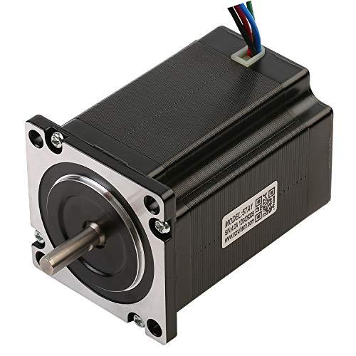 Motor paso a paso 57A2 CNC Nema 23, motor paso a paso, bipolar 220 Ncm, 4 micropasos híbridos, 4 alambres 1,8 grados para impresora 3D