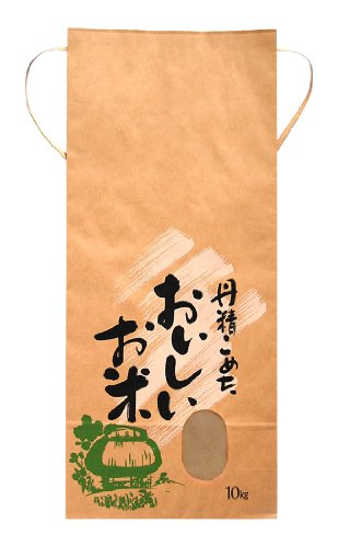マルタカ クラフト 丹精こめたおいしいお米(銘柄なし) 10kg用紐付 1ケース(300枚入) KH-0380