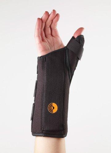 """Corflex Ultra Fit Cool Wrist Splint w/Abducted Thumb 8"""" MD Left"""