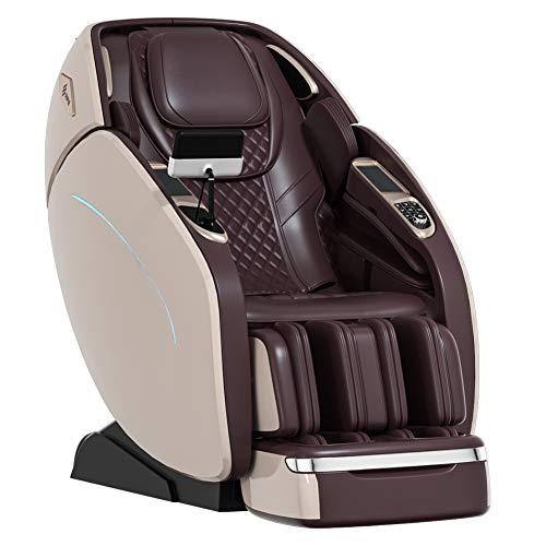 SUFUL M8 3D Office Silla de masaje expendedora de gravedad cero con color oro rosa