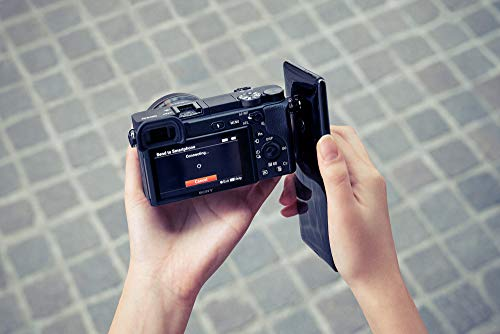 Sony Alpha ILCE-6400M 24.2MP Mirrorless Digital SLR Camera (Black) with 18-135mm Power Zoom Lens (APS-C Sensor, Real-Time Eye Auto Focus, 4K Vlogging Camera, Tiltable LCD) - Black