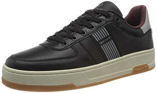 GANT FOOTWEAR Herren SAINT-BRO Sneaker, Black, Black, 43