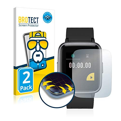 BROTECT Protector Pantalla Completa Compatible con Willful Fitness Tracker 1.3