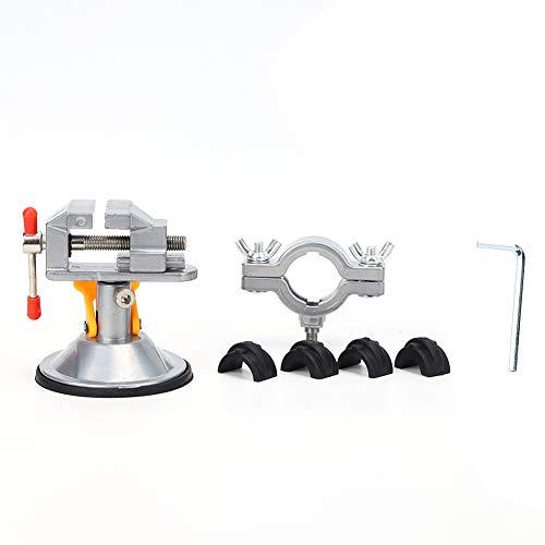 TQNSSM Mesa de banco de trabajo con tornillo de banco universal Tornillo de triturador eléctrico Stent Abrazadera manual de autocebado rápido