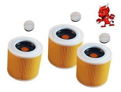 3 Cartouche de Filtre Filtre Rond Lamellenfilter pour Dewalt D27902M