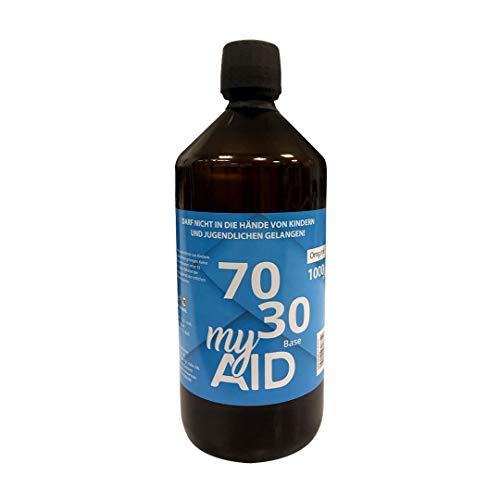 my AID - e Liquid Basis 1000 ml ohne Nikotin Base 70% VG / 30% PG