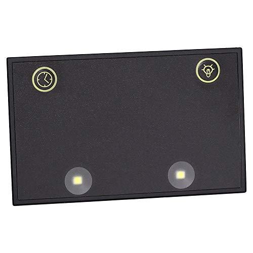 Ledershop24 LED Licht für Kellnerbörse Kellner Kellnergeldbörse Geldbörse Kellnergeldbeutel Bedienungsbörse Damentasche Handtasche Tasche Farbe schwarz