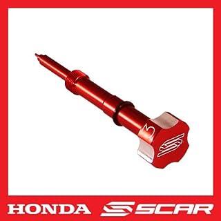 SCAR Abrazadera Latiguillo Freno compatible con YAMAHA YZ YZF 65 85 125 250 450 125X 250X 250FX 450FX azul
