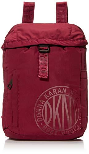 DKNY Urban Sport Rucksack, Burgunderrote Klappe. (Rot) - DO680US8BP02