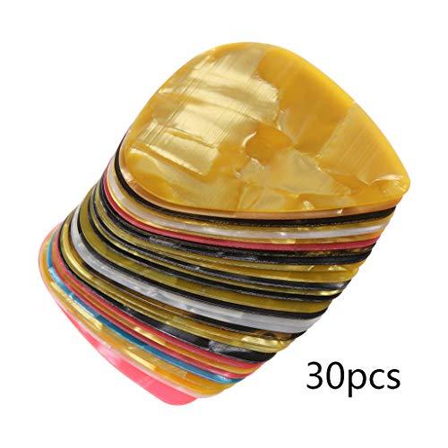 JOYKK 30 Stuks Ultra Dunne Slim Plastic Gitaar Picks voor Pry Opening Tool Mobiele Telefoon Laptop Reparatie Hand Tools Kit - Kleur willekeurig