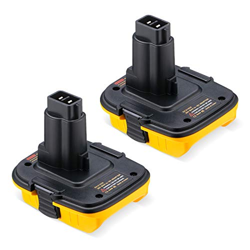 Magolin 2Packs Replacement for Dewalt Battery Adapter...