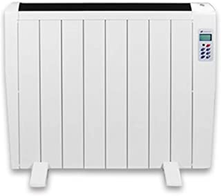 MAZHONG Space Heaters 1.2kW Aluminum Electric Panel Heater | Energy Saving, Window Detection, LCD Digital Display, Remote Control, Adjustable Thermostat, 7-day Time Anti-frost Function And Silent Op