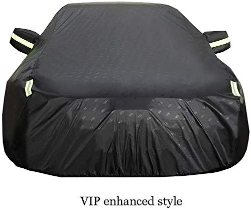 Zfggd Impermeable Y Transpirable Campana - For Toyota SUV Sequoia 2010 2003/2004 2010 2014 Prado/FJ Cruiser - Oxford Tela/Algodón Forro - All Weather Cubierta Durable (Color : Fortuner2016)