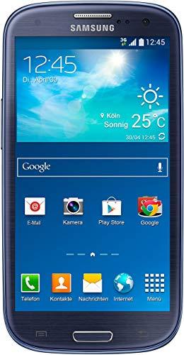 Samsung Galaxy S III Neo Smartphone (4,8 Zoll (12,2 cm) Touch-Display, 16 GB Speicher, Android 4.4) metallic blue (Generalüberholt)