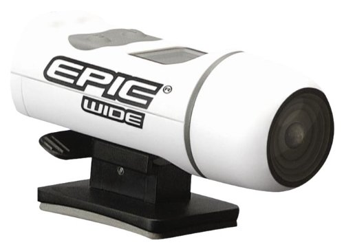 Epic Stealth Cam Wide Angle Adventure Sport Camera Kit (White, Small)
