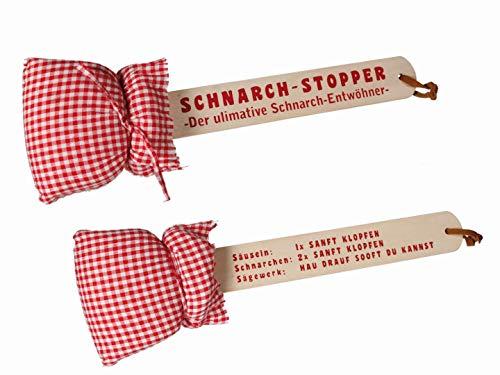 Preis am Stiel 1 x Schnarchklopper mit Kissen | Scherzartikel | Geburtstagsgeschenk | Lustige Geschenke