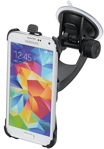 iGRIP KFZ Halterung für Samsung Galaxy S5 / S5 Neo [Made in Germany | 360° drehbar | Vibrationsfrei | Für Scheibe & Armaturenbrett] - T5-94972