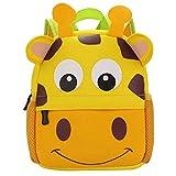 BAIGIO Mochila Infantil Kindergarten,Pequeñas Mochilas Bolsas Escolares de Dibujos Animados Animales...