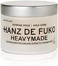 Hanz de Fuko Heavymade- Hair Styling Gel Pomade with a High Shine Finish (2oz)