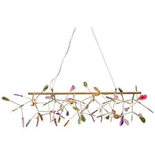 miwaimao Lámpara de araña de estilo industrial retro creativo, restaurante, sala de estar, cafetería, bar, personalidad, escalera de caracol para comedor, baño, trastero, sala de estar