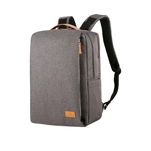 Nordace, Smart Backpack Siena, zaino, 19L USB, grigio. (Grigio) - Siena