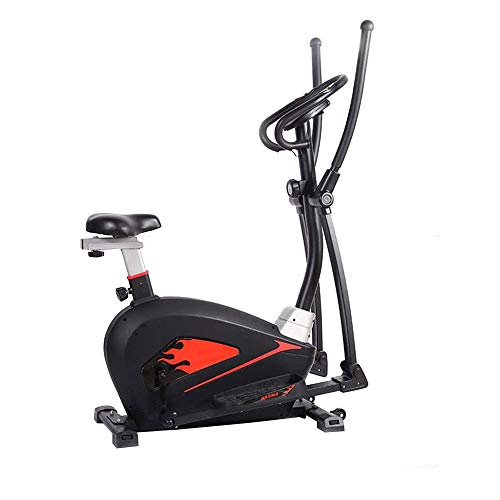 Best Prices! Logo Elliptical Machine Cross Trainer, 16-Speed Variable Resistance Adjustment,8kg Two-...