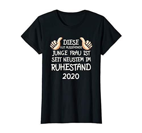 Damen Rentnerin 2020 Rente Lustig Spruch Ruhestand Rentner Pension T-Shirt