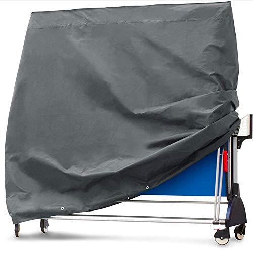 kuaetily Schutzhülle für Tischtennisplatte, Tischtennisplatte Abdeckhaube Abdeckung aus Oxford Gewebe Wasserdicht UV-Schutz
