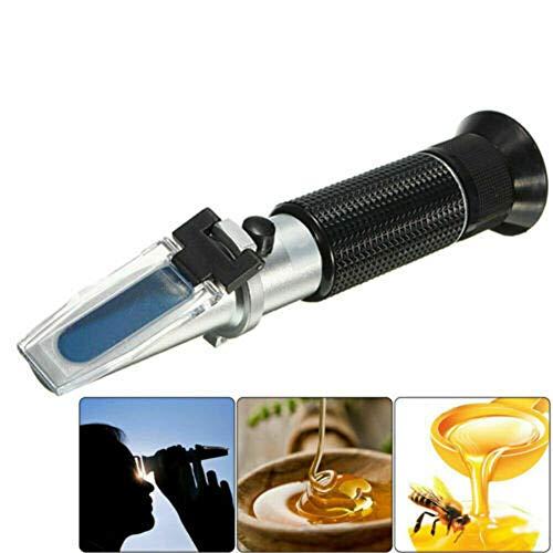 ConPush 2020 Refraktometer Honig Imker Wasser Zucker Gehalt, Brix: 58-90% Wasser: 10-33%