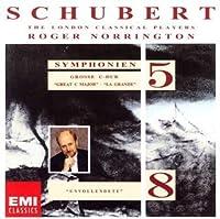 SCHUBERT: SYMPHONIES NOS.5 & 8(24bit) by NORRINGTON & LONDON CLASSICAL PLAYERS (2005-12-21)