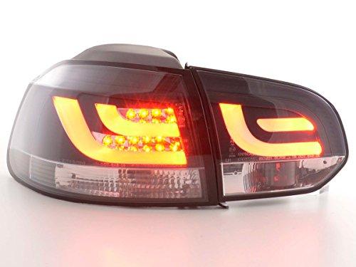 Achterlichten set LED Golf 6 type 1K bj. 2008-2012 zwart [auto].