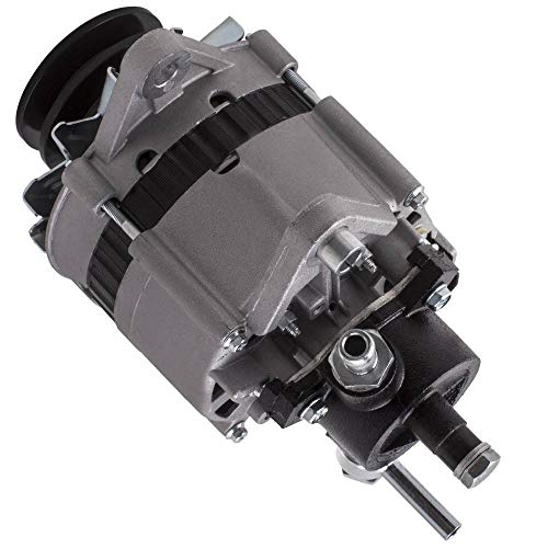 LZZJ Alternadores Alternador para Nissan Navara SD22 2.2L Diesel 1980-1988 12V 80A...