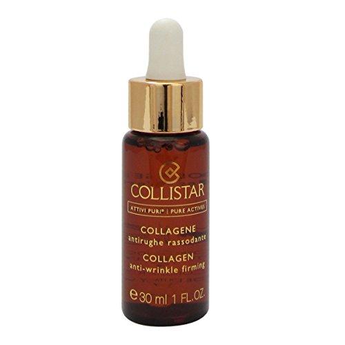 Collistar Attivi Puri Siero Collagene, Gocce Viso per un azione antirughe e rassodante , Per tutti i tipi di pelle, Senza siliconi, alcol e coloranti, 30 ml