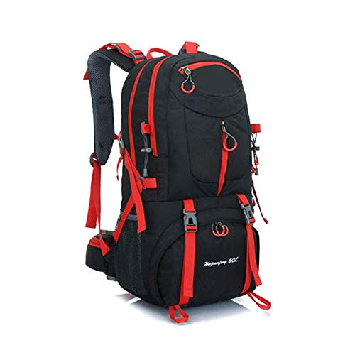 40l / 50l 60l Trekking Rucksack Outdoor Sports Camping Hiking Daypacks Black