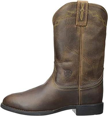 Ariat Women's Heritage Roper Western Cowboy Boot, Distressed Brown, 8 B US