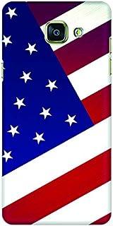 Stylizedd Samsung Galaxy A5 (2016) Slim Snap Case Cover Matte Finish - Flag of US