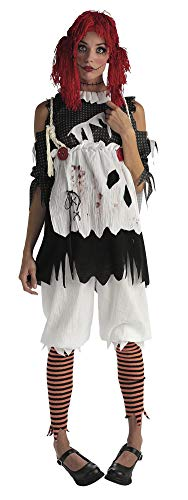Rubie's Women's Deluxe Rag Doll Costume, As Shown, X-Small